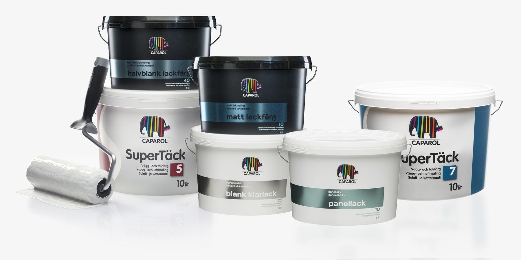 Inomhusfärger - Färger för målning inomhus  339bc3f3f4b77