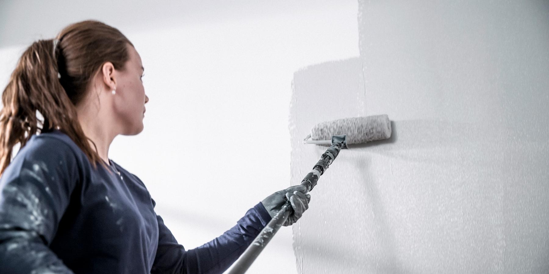 Målarfärg för att måla i våtrum   caparol färg