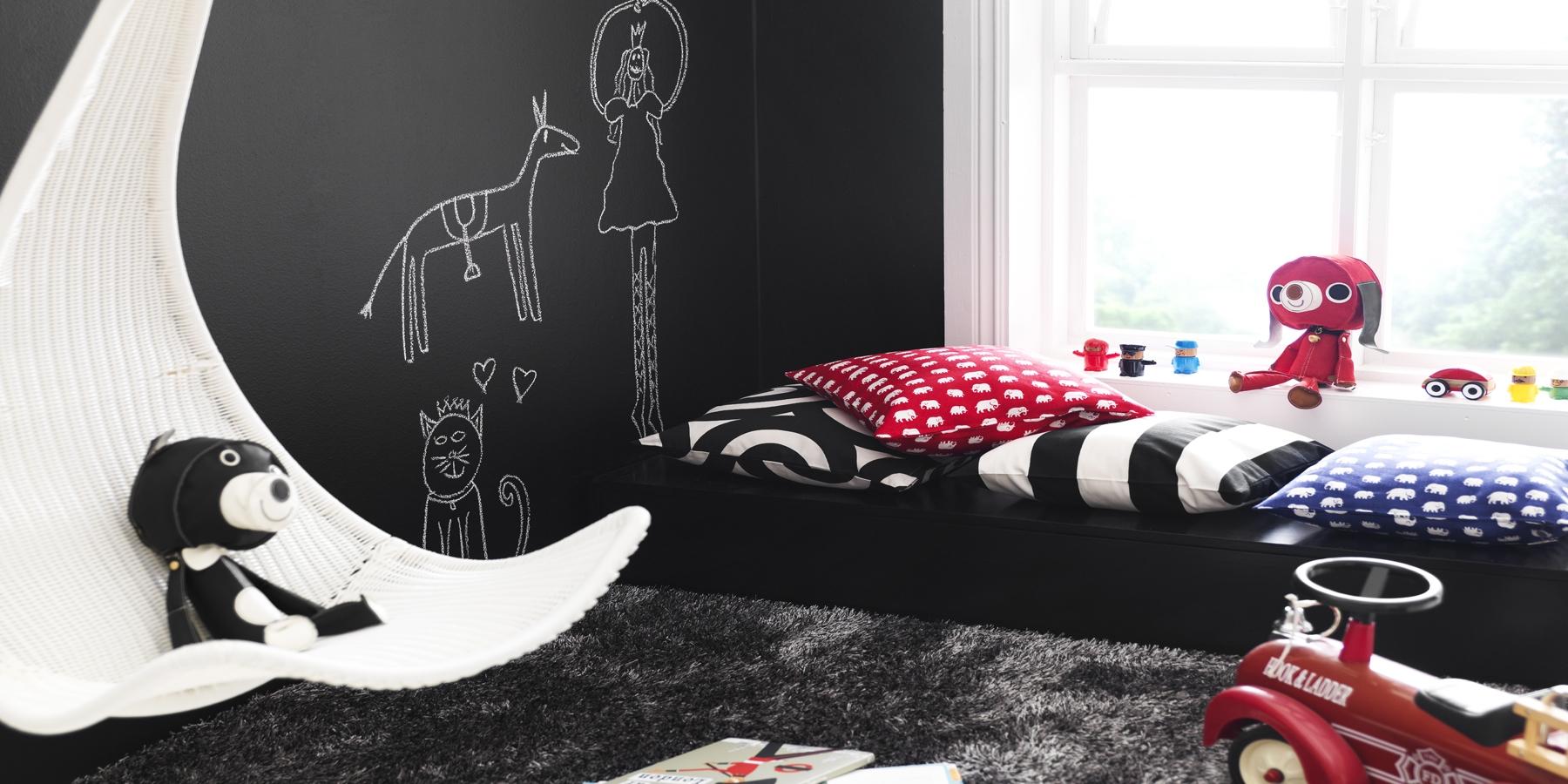 Färg ger extra liv   inspiration till barnrum   caparol färg