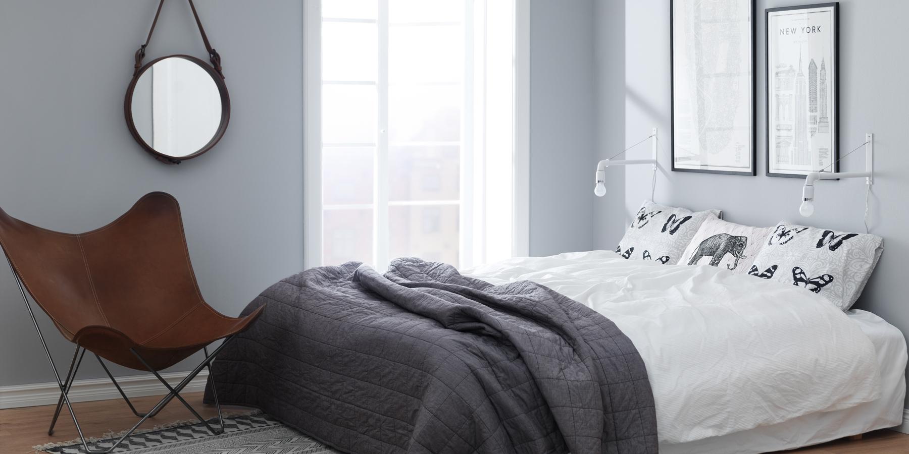 Inspiration för målning i sovrum   caparol färg
