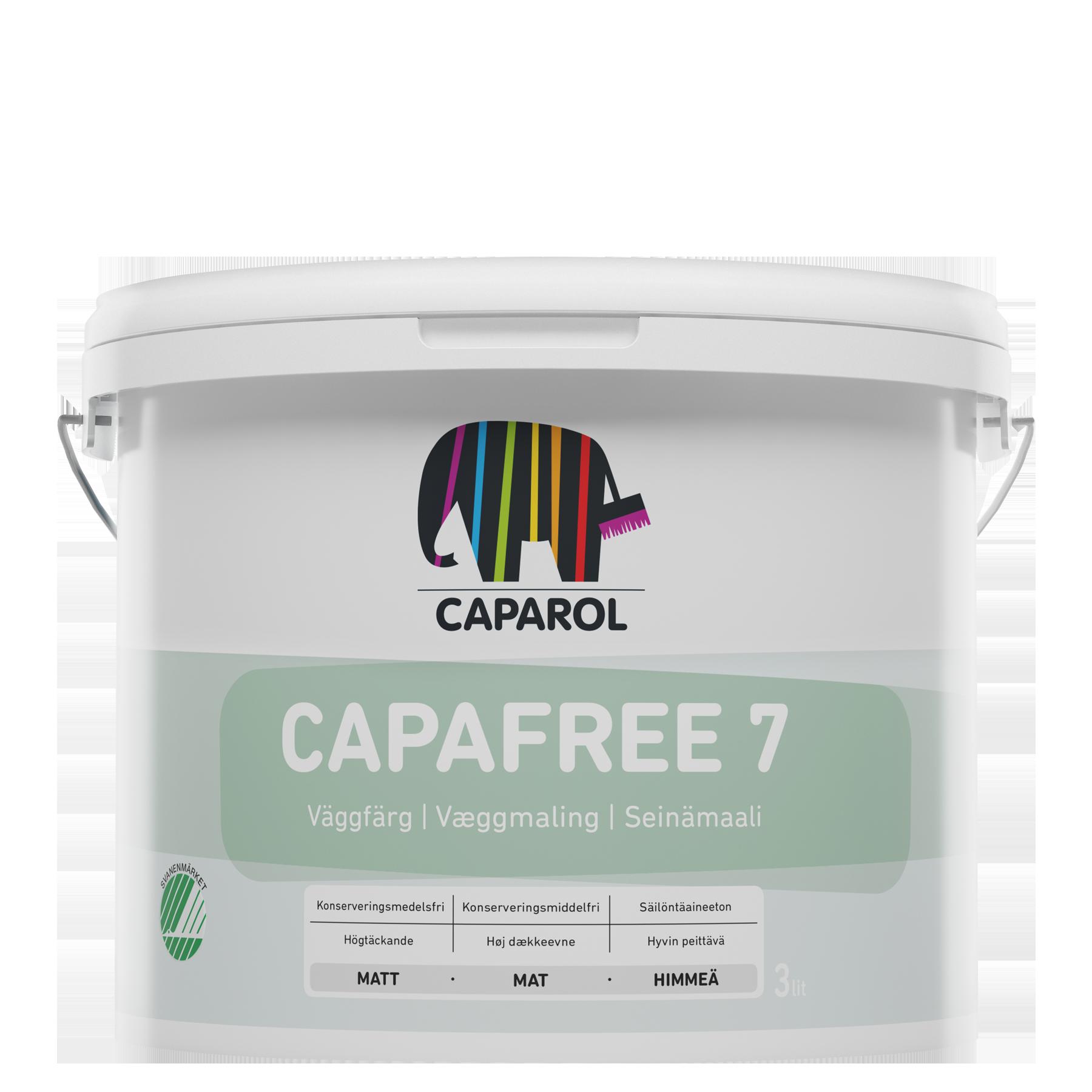 Välkända Köp Capafree 7 vit - Konserveringsfri målarfärg - Caparol Färg JZ-83